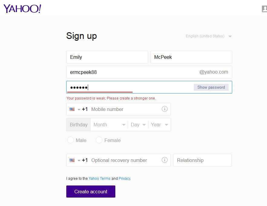 how to close yahoo account