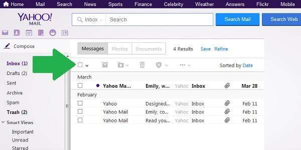 tricks for yahoo