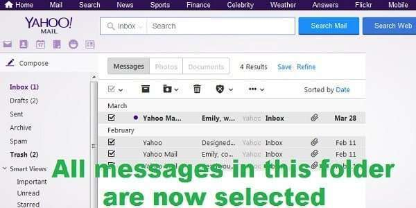 tricks for yahoo 5