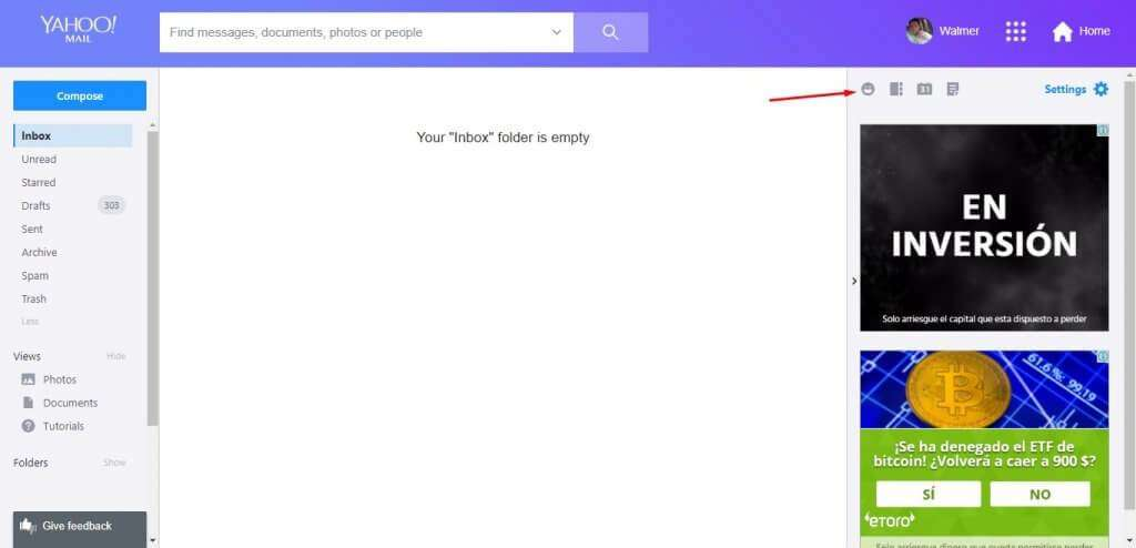 how to create a yahoo email